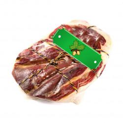 Green label Jamón Ibérico Dry Shoulder