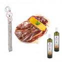 PACK Chorizo VELA + 1/4 Green Label Dry Ham + Salchichon VELA