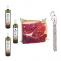 PACK Olive Oil Extra + Salchichon VELA + Black Label Dry Shoulder