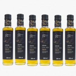 Paquet x 10 Jambon Ibérico Tranché label noir + 3 Huile d'olive extra vierge 0,5Ltr + chorizo Vela