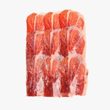 PACK 10 x 100gr (1Kg) Black label Ibérico Dry SLICED Ham