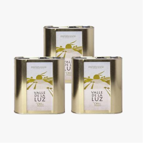 3 Canette Huile d'olive 2,5L