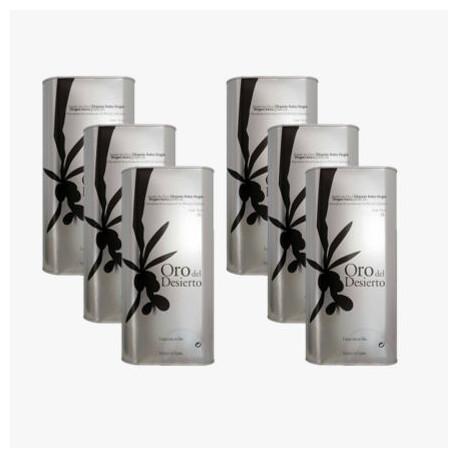 6 x Olivenöl Virgen Extra BIO- Dose 1 l