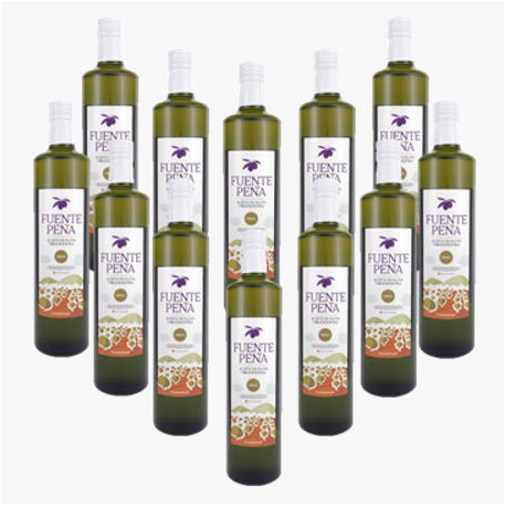 12 bouteille Huile d'olive Extra ORG 500ml