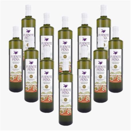 12 Olivenöl BIO Glasflasche 500ml