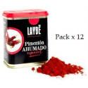 Pack x 12 Kann geräucherte Paprika spanische Auswahl