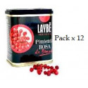 Pack x 12 Pink Pepper Can