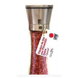 Moulin à pétales de sel Cristal-Inox au paprika doux