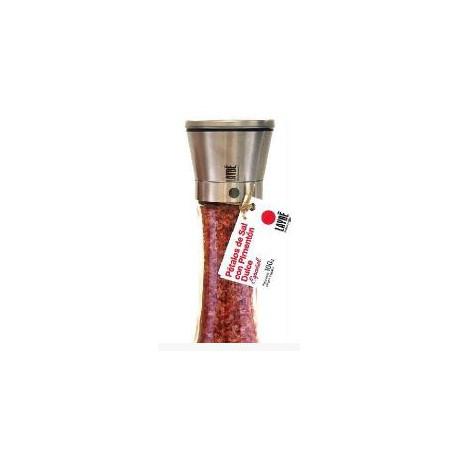 Cristal-Inox Salt Petals Mill with Sweet Paprika