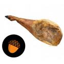 Pack Black label Jamón Ibérico Dry Shoulder with BONE+Support base and Knife
